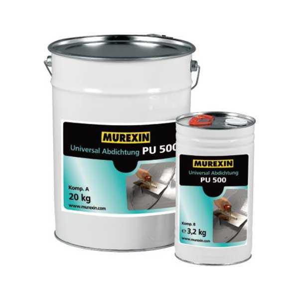 Murexin PU 500 univerzális szigetelés, A+B komponens - 23,2 kg