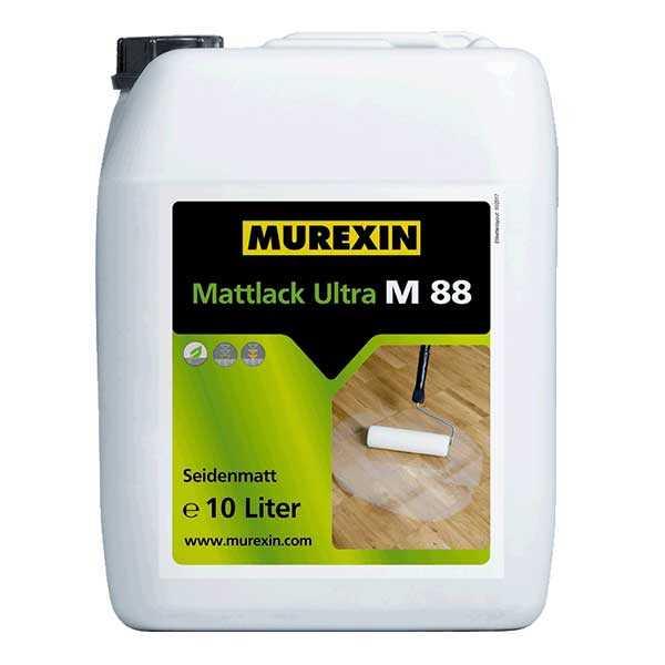 Murexin M 88 Ultramatt parkettalakk 10 L