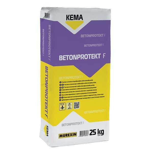 Murexin BETONPROTEK F Finom betonjavító habarcs - 25 kg
