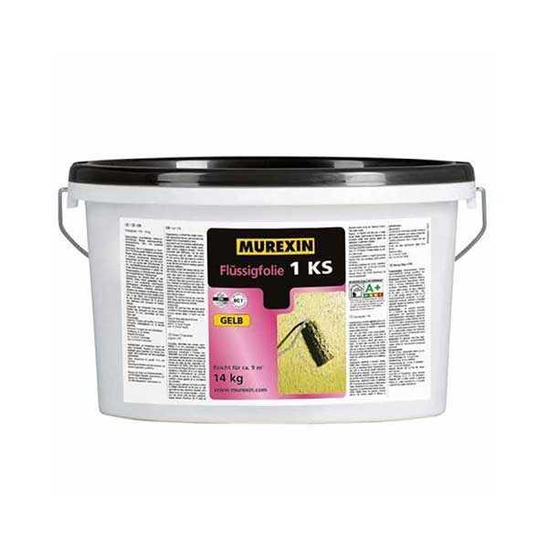 Murexin 1 KS folyékony fólia sárga - 14 kg