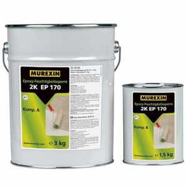 Murexin 2K EP 170 Nedvességzáró epoxigyanta, A+B komponens - 4,5 kg