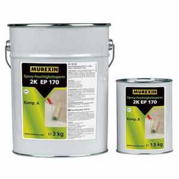 Murexin 2K EP 170 nedvességzáró epoxi gyanta, A+B komponens - 30 kg