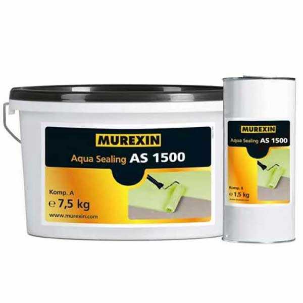 Murexin AS 1500 Aqua Sealing, A+B komponens - III. színcsoport - 9 kg