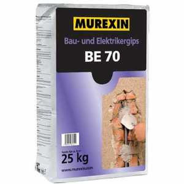 Murexin BE 70 építési és szerelési gipsz - 25 kg