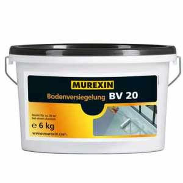 Murexin BV 20 színes padlóbevonat - RAL 7030 kőszürke - 12 kg