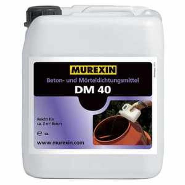 Murexin DM 40 beton- és habarcstömítő adalékszer - 1 kg