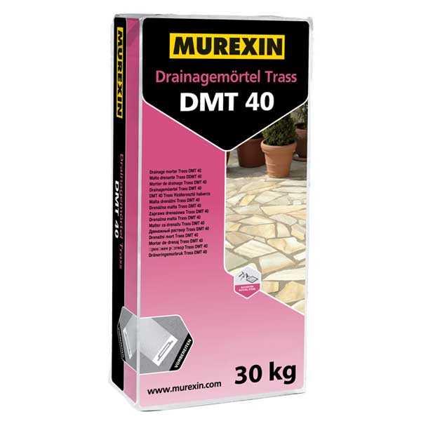 Murexin DMT 40 Trass vízáteresztő habarcs - 30 kg