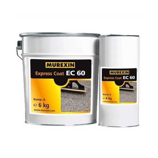 Murexin EC 60 Express Coat, A+B komponens - 2,5 kg