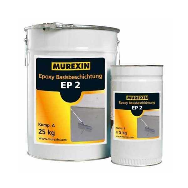 Murexin EP 2 epoxibevonat, A+B komponens - II. színkategória - 30 kg