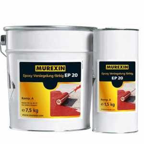 Murexin EP 20 színes epoxibevonat, A+B komponens - I. színkategória - 9 kg