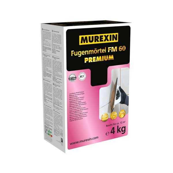 Murexin FM 60 Prémium fugázó - cementszürke - 4 kg