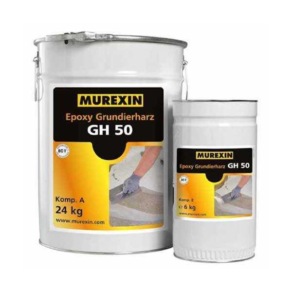 Murexin GH 50 epoxi alapozógyanta, A+B komponens - 5 kg