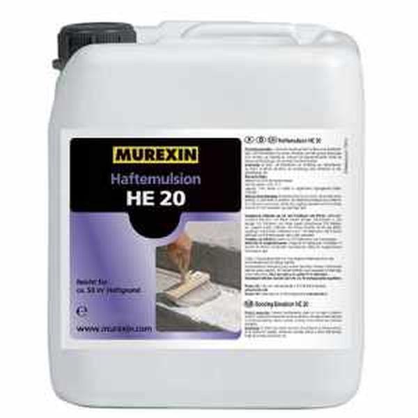 Murexin HE 20 tapadásjavító emulzió (Haftemulsion) - 5 kg