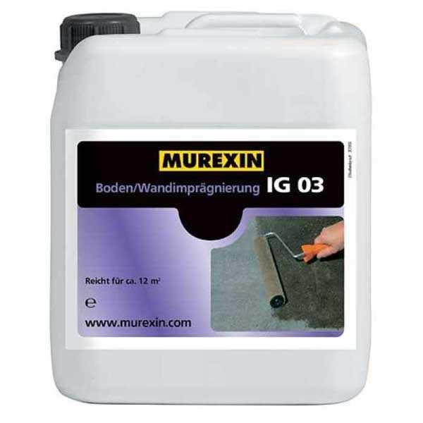 Murexin IG 03 padló- és fal impregnáló - 25 kg