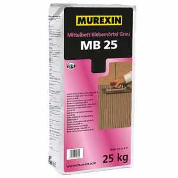 Murexin MB 25 profiflex Maxi középágyazású ragasztóhabarcs - 25 kg