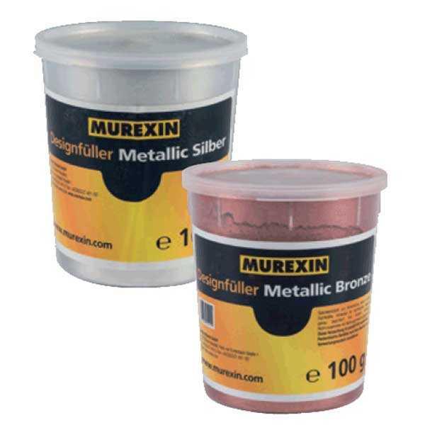 Murexin Metallic Design töltőanyag - 100 g - Ezüst