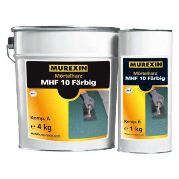 Murexin MHF 10 Színes gyantahabarcs, A+B komponens - 5 kg