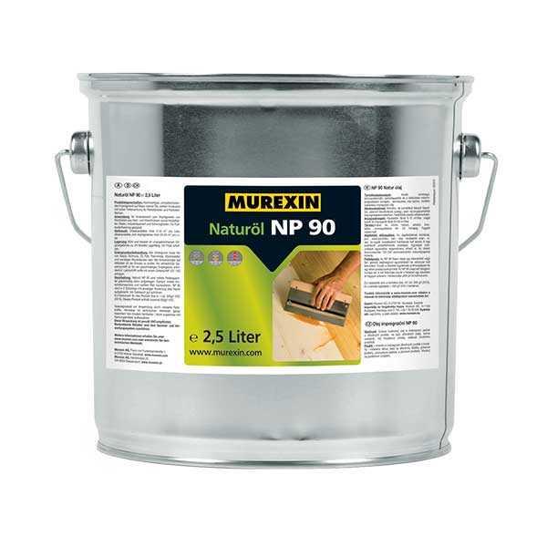 Murexin NP 90 természetes olaj - Schwarz - 750 ml