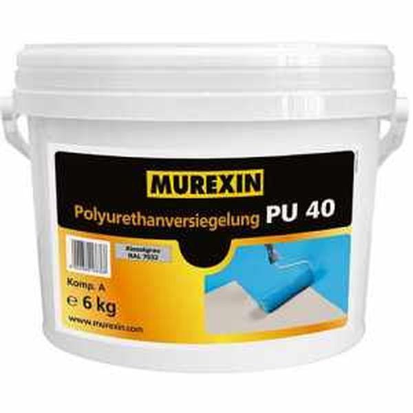Murexin PU 40 poliuretán vékonybevonat 6 kg I. színkategória