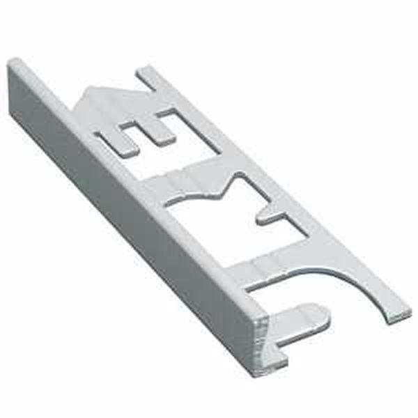 Murexin PVC szögletes kialakítású élzárósín - fehér - 8 mm - 3 m