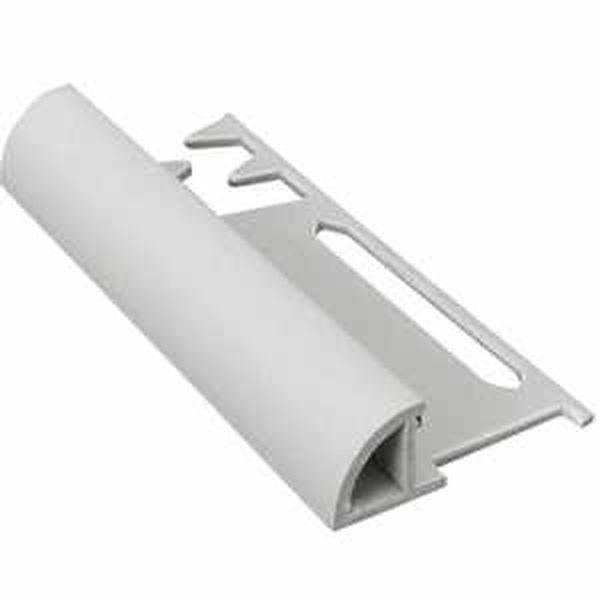Murexin PVC lekerekített kialakítású élzárósín - fehér - 10 mm - 3 m