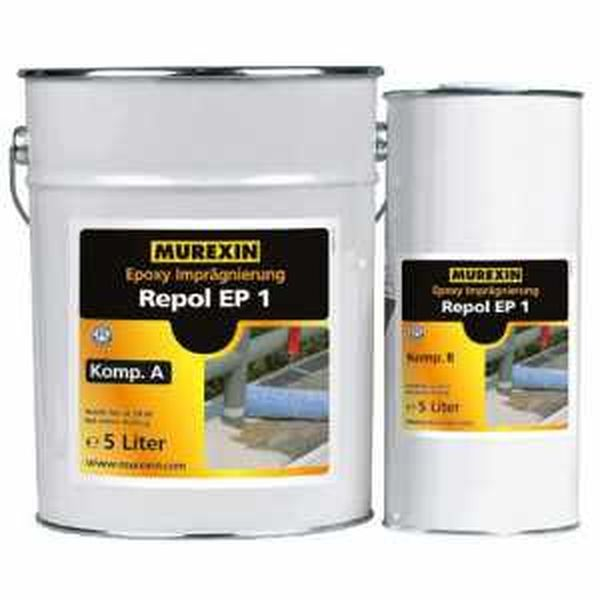Murexin Repol EP1 epoxi impregnáló, A+B komponens - 10 L