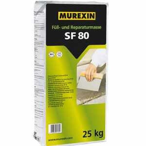 Murexin SF 80 kitöltő és javítóanyag 4 kg