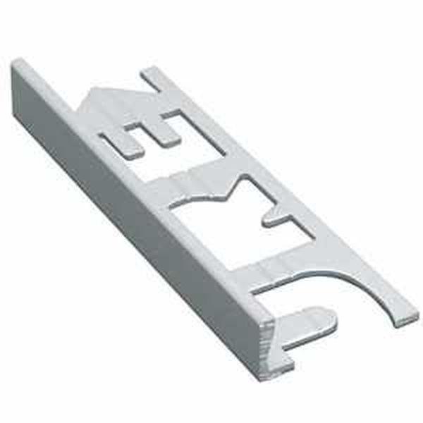 Murexin PVC szögletes kialakítású élzárósín - fehér - 6 mm - 3 m