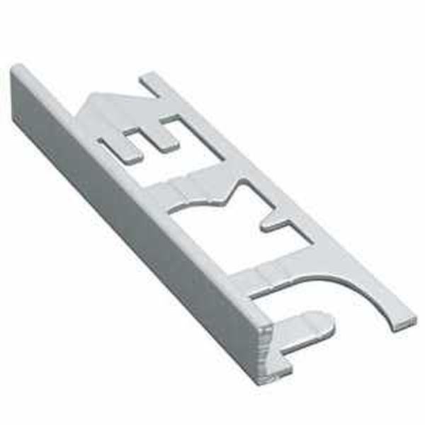 Murexin szögletes kialakítású fém elzárósín 3 fm, MG 10 - nemesacél - 10 mm