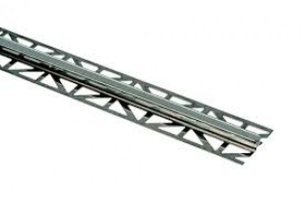 Murexin dilatációs profil, nemes acél - 15 mm - 3 m