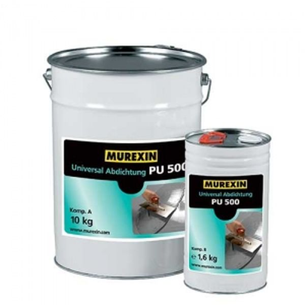 Murexin PU 500 univerzális szigetelés, A+B komponens - 11,6 kg
