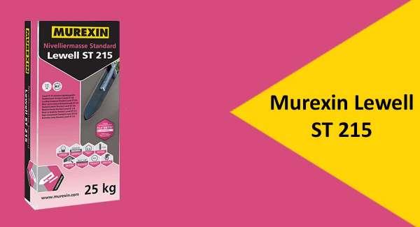 Murexin Lewell ST 215 Standard aljzatkiegyenlítő - Bemutató